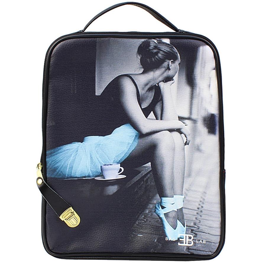 ae1f1746ad Γυναικεία σακίδια πλάτης με print ballerina Μαύρο