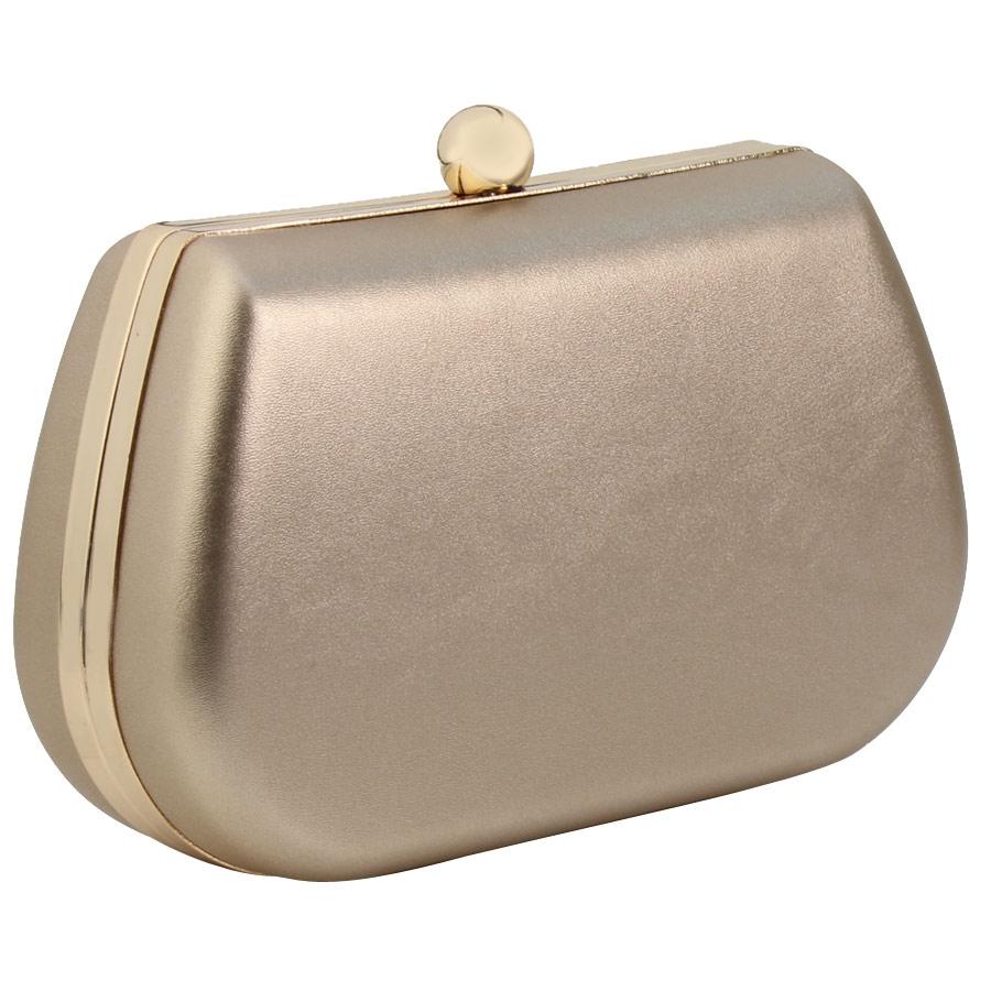 Inshoes Φάκελοι clutch με σχέδιο αχιβάδα Χρυσό 8246 99 598baf194c1