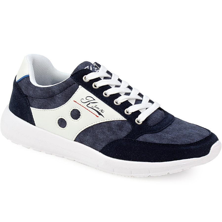 Ανδρικά sneakers με ελαστική σόλα Μπλε