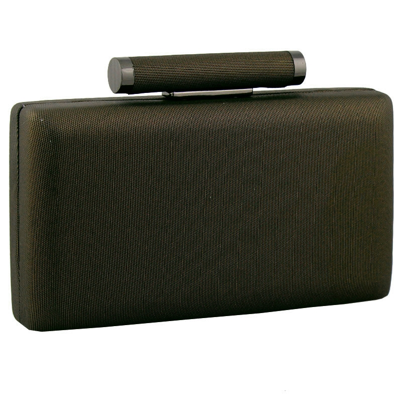 Φάκελοι clutch με στρογγυλή χειρολαβή Μπρονζέ