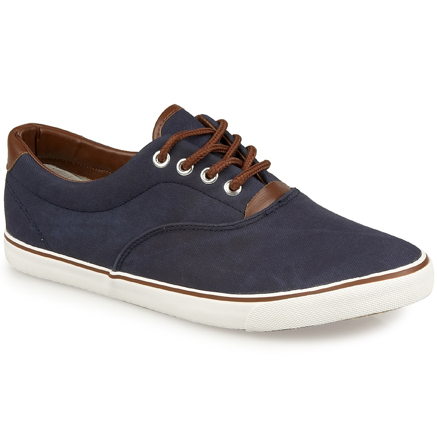 Ανδρικά sneakers από ύφασμα Μπλε