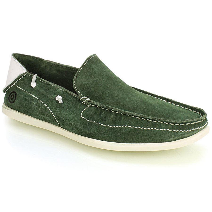 Loafers δέρμα καστόρι Πράσινο
