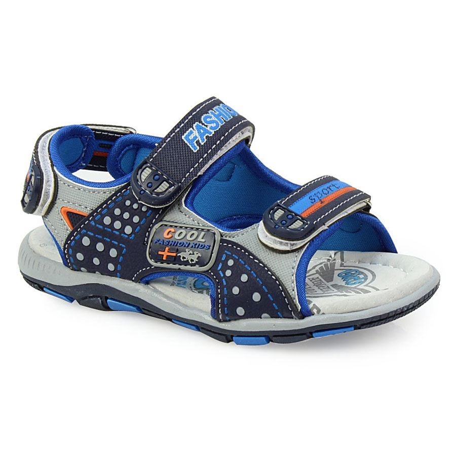 0fcca610f12 -29% Inshoes Παιδικά πέδιλα με χρωματιστές λεπτομέρειες Μπλε