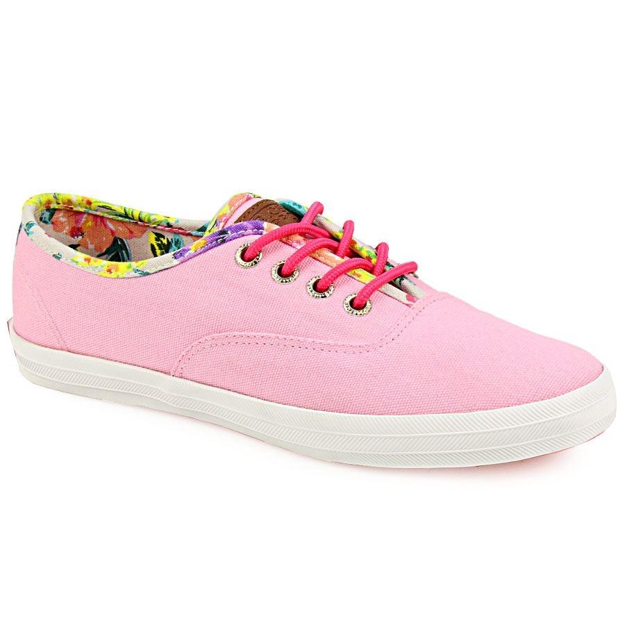 Γυναικεία sneakers με χρωματιστή φόδρα Ροζ