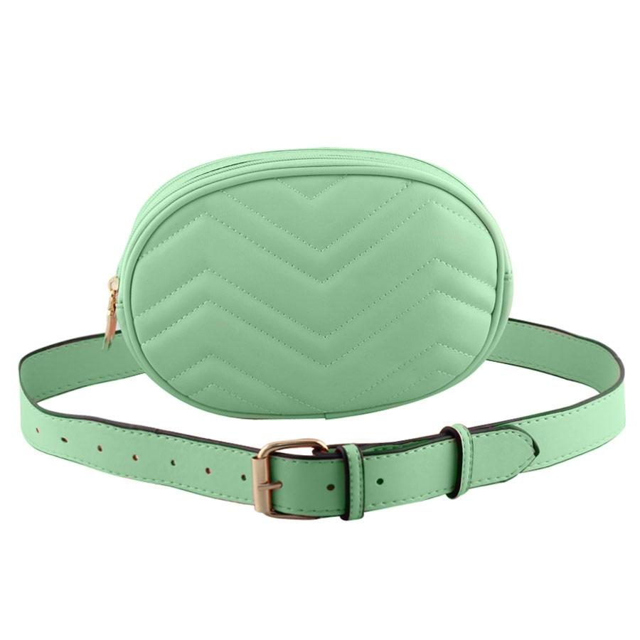 Γυναικείες τσάντες ώμου και μέσης με κυματιστό σχέδιο Πράσινο γυναικα   τσάντες   μεσησ