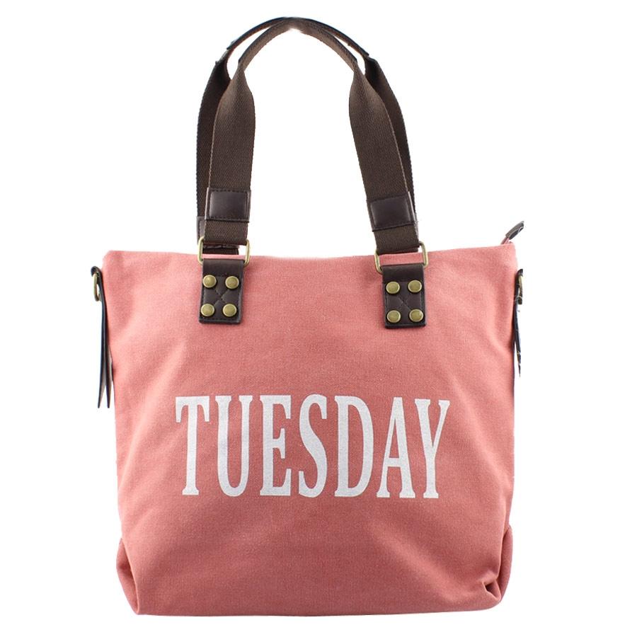 7af89466f2 Τσάντες ώμου με print days Ροζ
