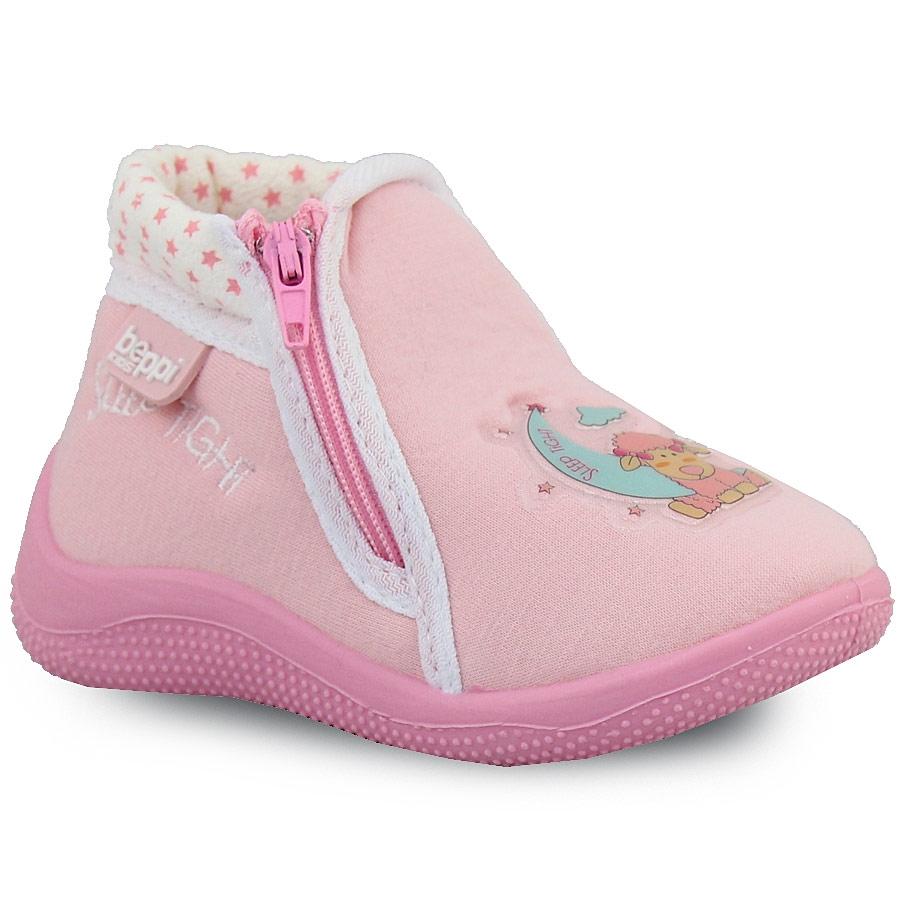 Παιδικές παντόφλες με φερμουάρ Ροζ 53ccf46e744