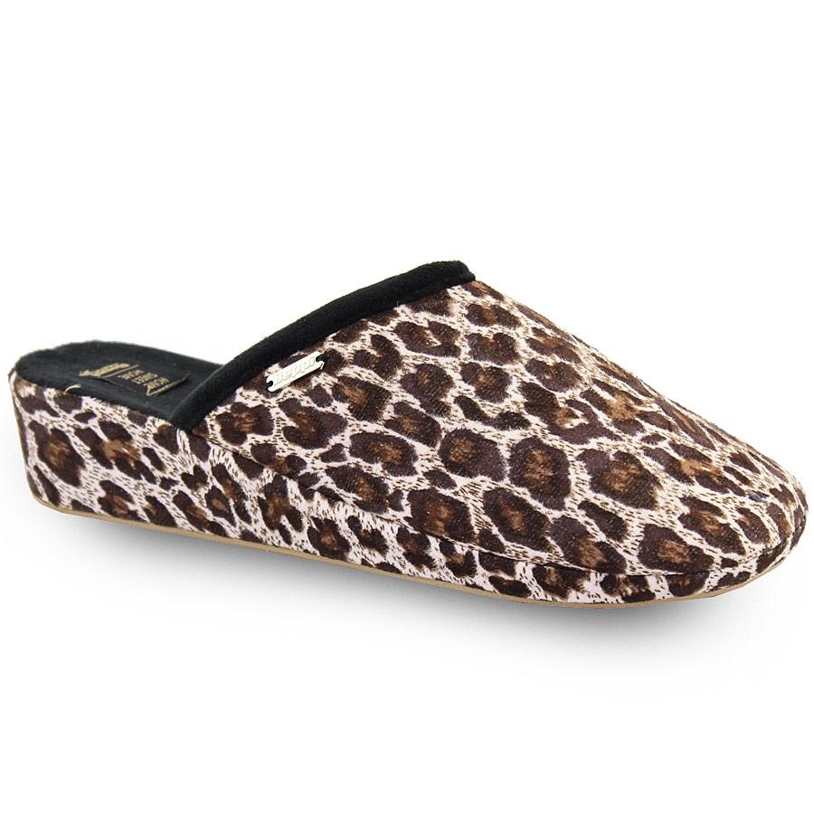 Γυναικείες παντόφλες λεοπάρ Λεοπάρ γυναικα   παπούτσια   παντοφλεσ