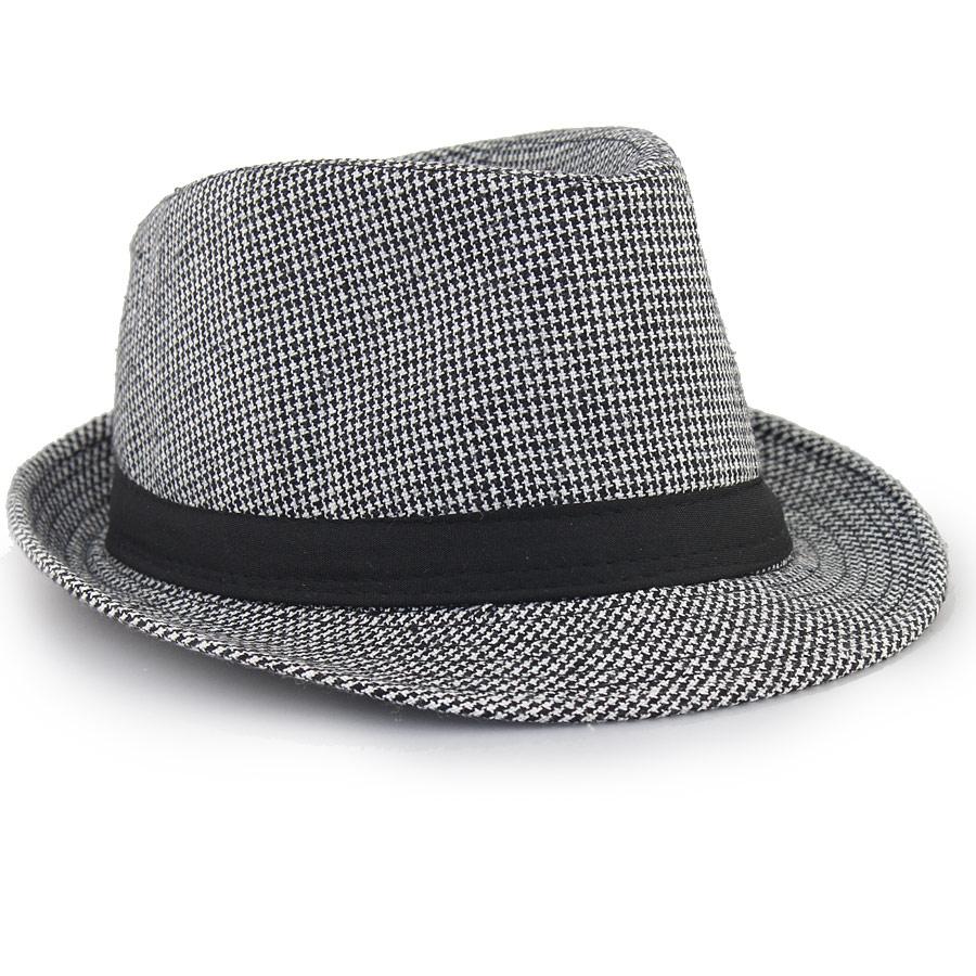 Γυναικεία καπέλα καρό Μαύρο/Λευκό