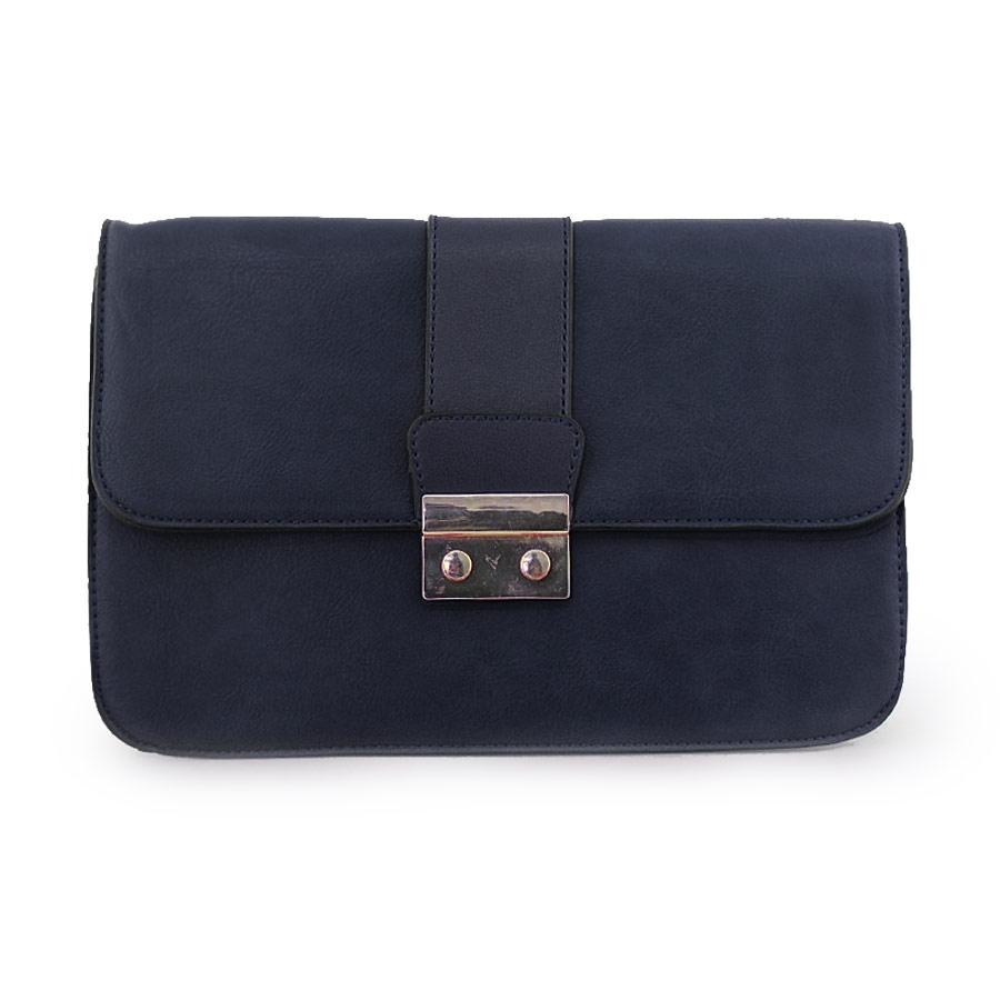 Γυναικείες τσάντες ώμου με κάθετο δέσιμο Μπλε 3facafcb731