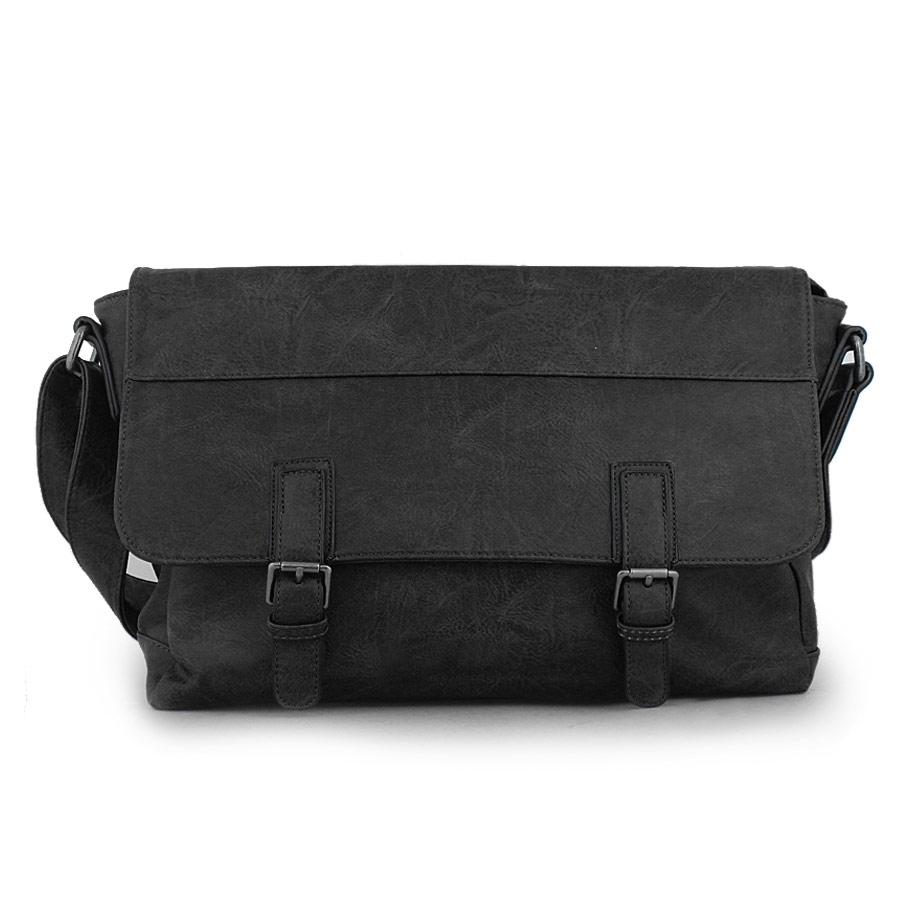 15cd3389e2 Inshoes Aνδρικές τσάντες επαγγελματικές με διπλά τοκά Μαύρο 14829 84