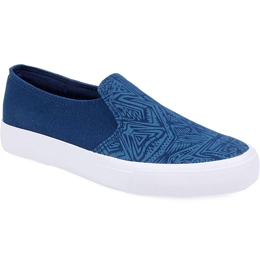 Ανδρικά sneakers με σχέδια Μπλε