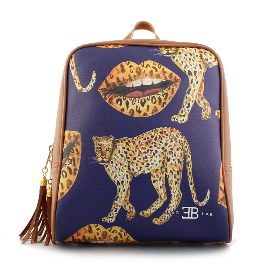 bb165c8276 Τσαντα Ωμου · Γυναικεία σακίδια πλάτης με animal print σχέδια Ταμπά