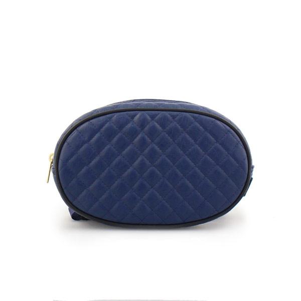 Γυναικείες τσάντες μέσης καπιτονέ Μπλε