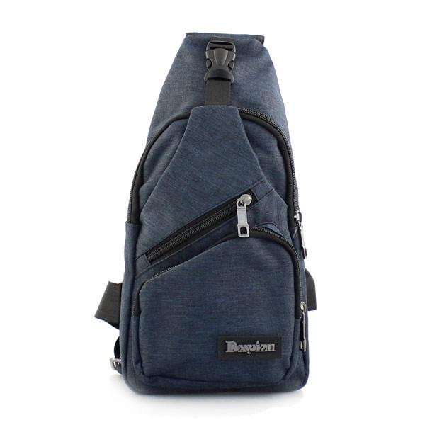 Ανδρικές τσάντες ώμου με λογότυπο Μπλε