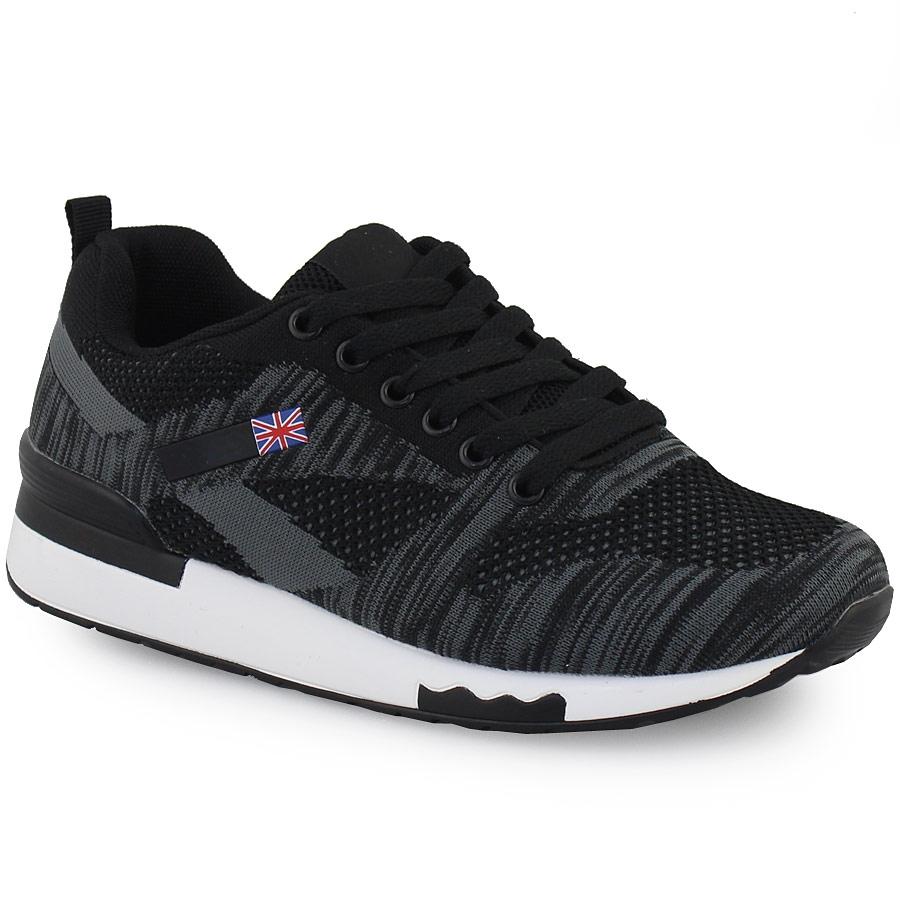 Γυναικεία sneakers με σχέδια Μαύρο