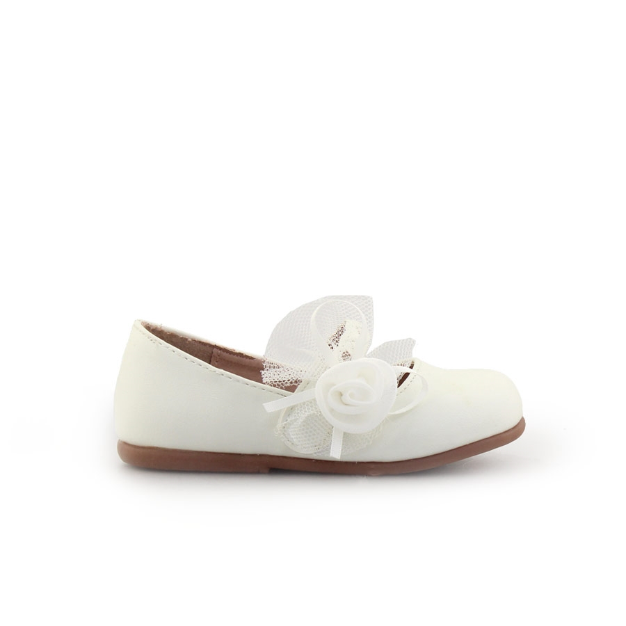 Παιδικές μπαλαρίνες με διακοσμητικό Λευκό παιδι   παπούτσια   μπαλαρινεσ