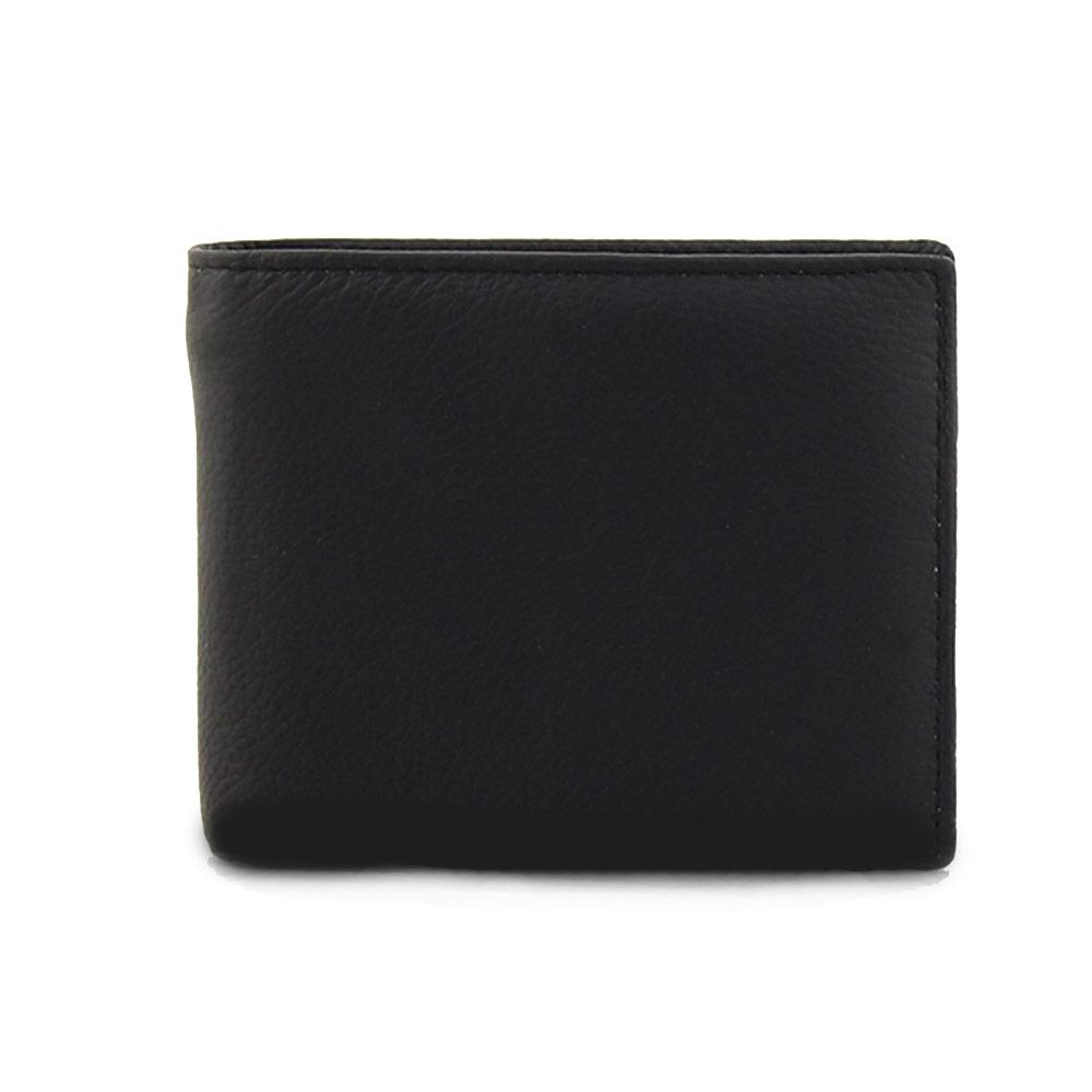 Ανδρικά δερμάτινα πορτοφόλια σε απλή γραμμή Μαύρο ανδρασ   αξεσουάρ   πορτοφολια