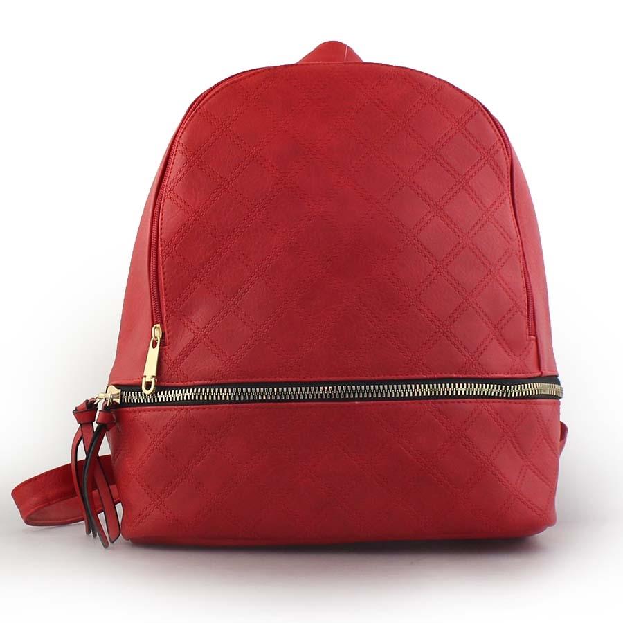 Γυναικεία σακίδια πλάτης με μοτίβο Κόκκινο
