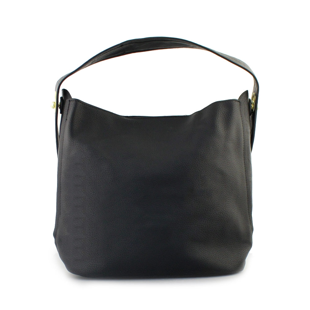 04c450fb27 Γυναικείες τσάντες ώμου με εσωτερικό τσαντάκι Μαύρο. Inshoes