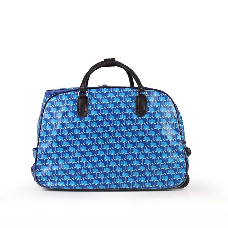 Γυναικείες τσάντες ταξιδίου με μοτίβο Μπλε