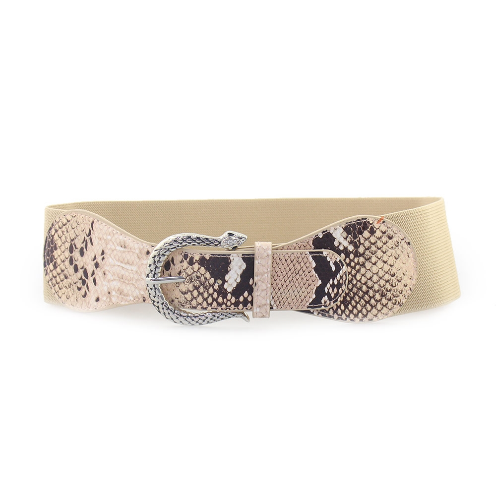3ecc8923d1 Γυναικείες ζώνες ελαστικές με ανάγλυφο τοκά Πούρο