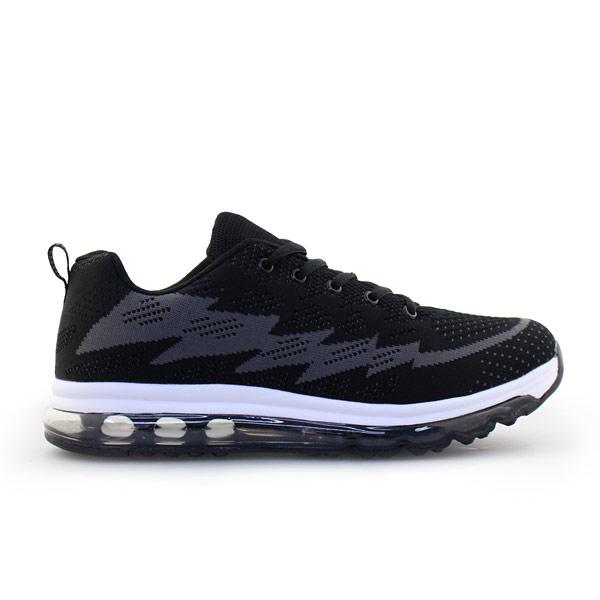Ανδρικά sneakers με δίχρωμο σχέδιο Μαύρο