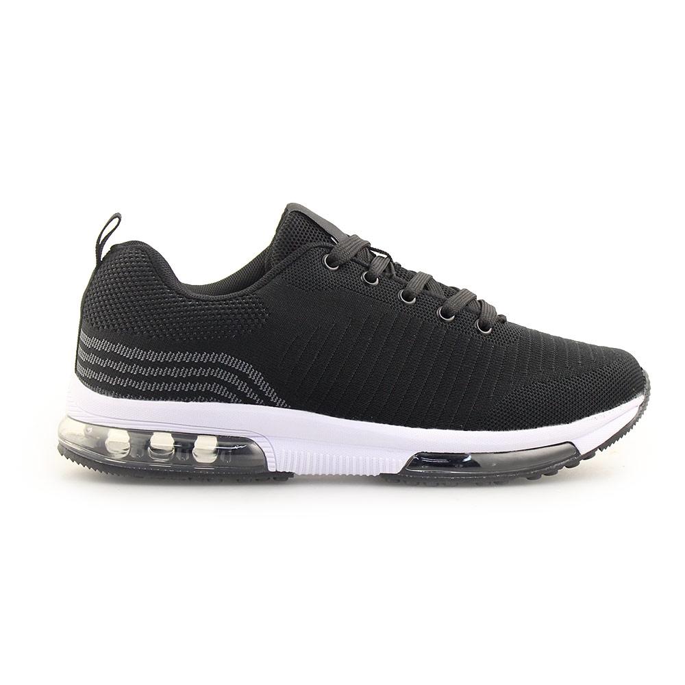 Ανδρικά sneakers με αερόσολα Μαύρο/Λευκό
