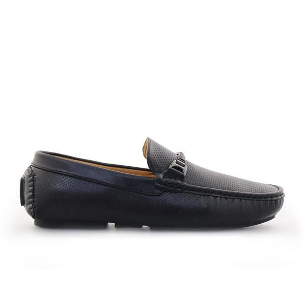 Ανδρικά loafers με λεπτομέρειες Μαύρο