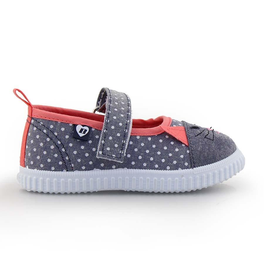 Παιδικά sneakers με ζωάκι Γκρι