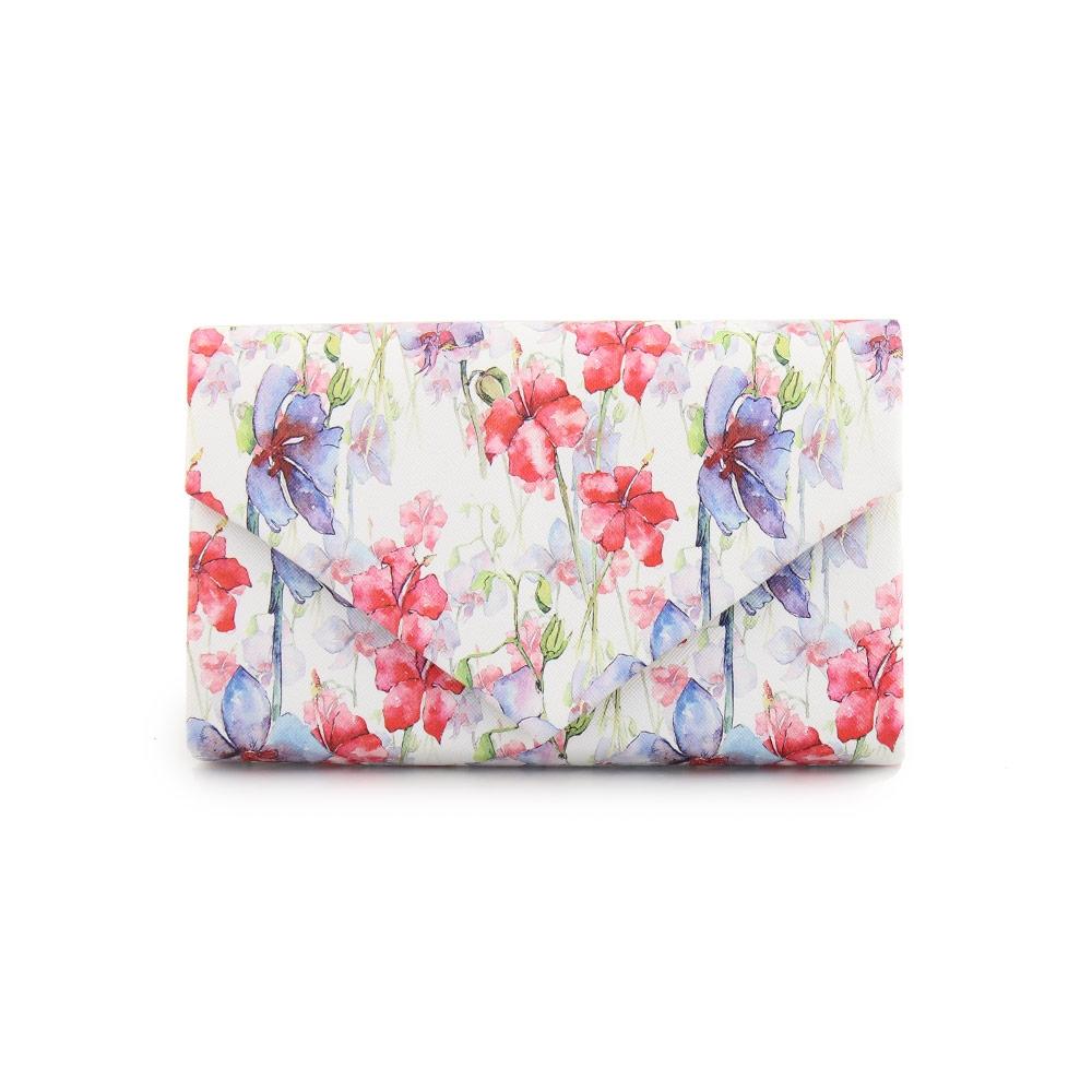 Γυναικείοι φάκελοι με μοτίβο λουλούδια Multi