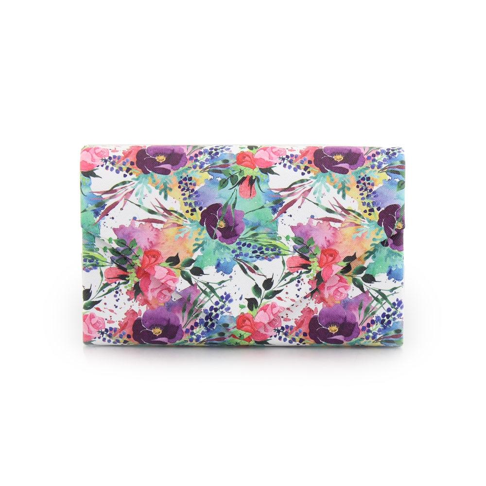 Γυναικείοι φάκελοι με πολύχρωμα λουλούδια Multi