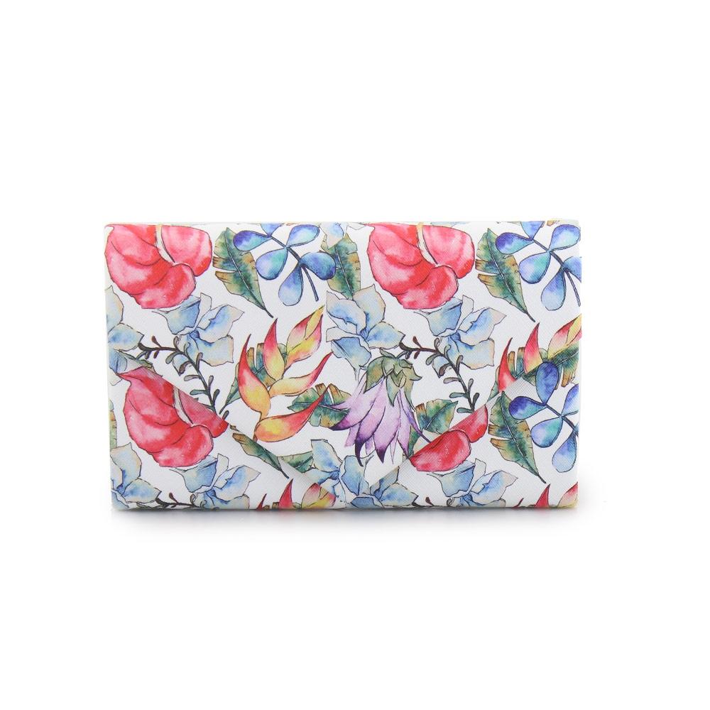 Γυναικείοι φάκελοι με χρωματιστά λουλούδια Multi
