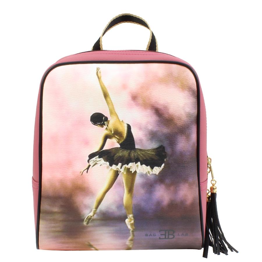 Γυναικεία σακίδια πλάτης με ballerina Ροζ