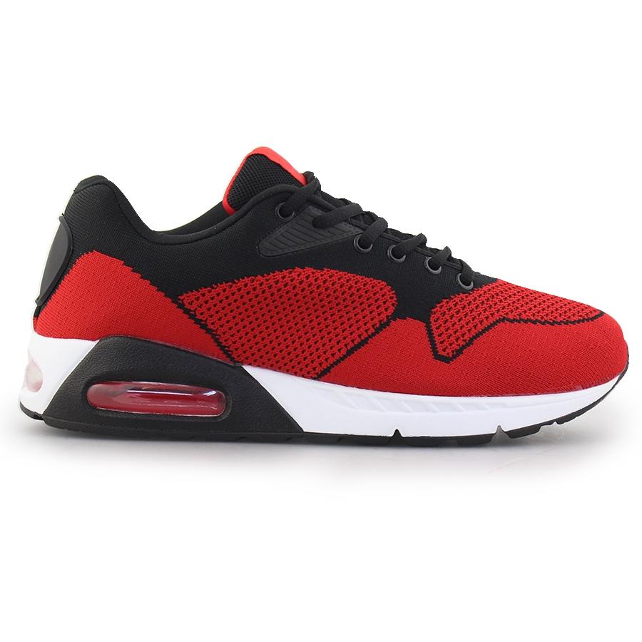 Ανδρικά sneakers με αερόσολα Κόκκινο