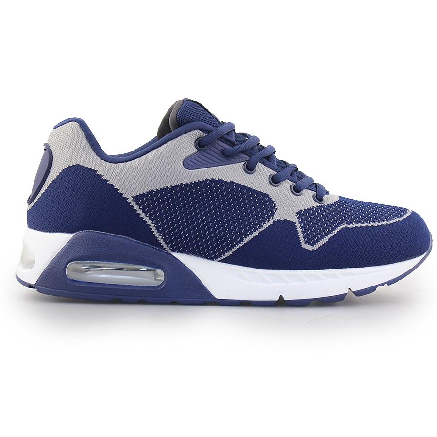Ανδρικά sneakers με αερόσολα Μπλε