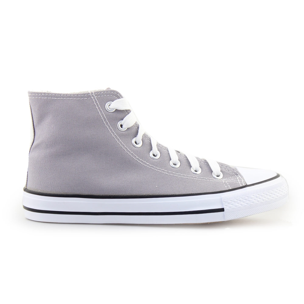 Γυναικεία sneakers μποτάκια Γκρι