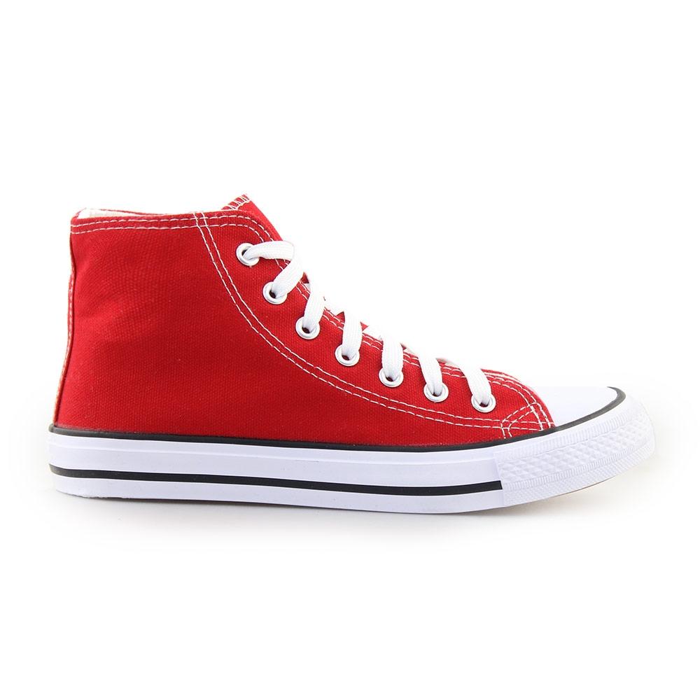Γυναικεία sneakers μποτάκια Κόκκινο