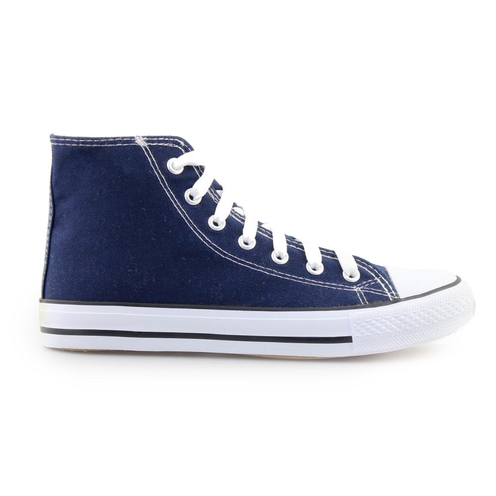 Γυναικεία sneakers μποτάκια Μπλε
