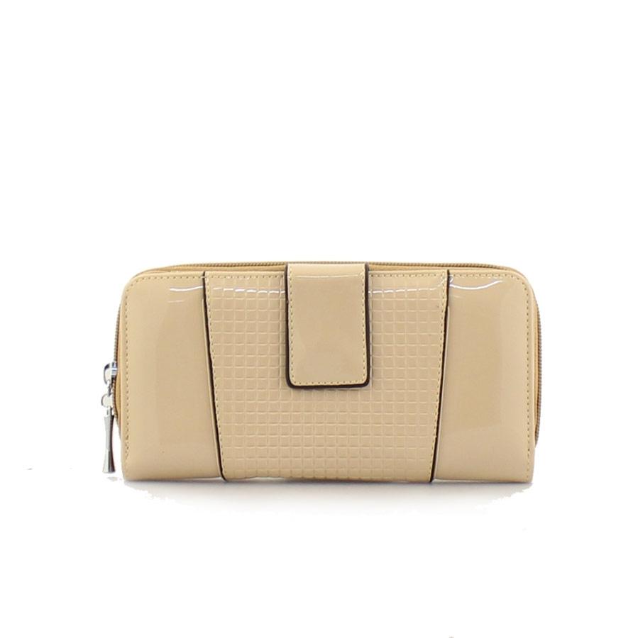 3c638cd80e Γυναικεία πορτοφόλια λουστρίνι Nude