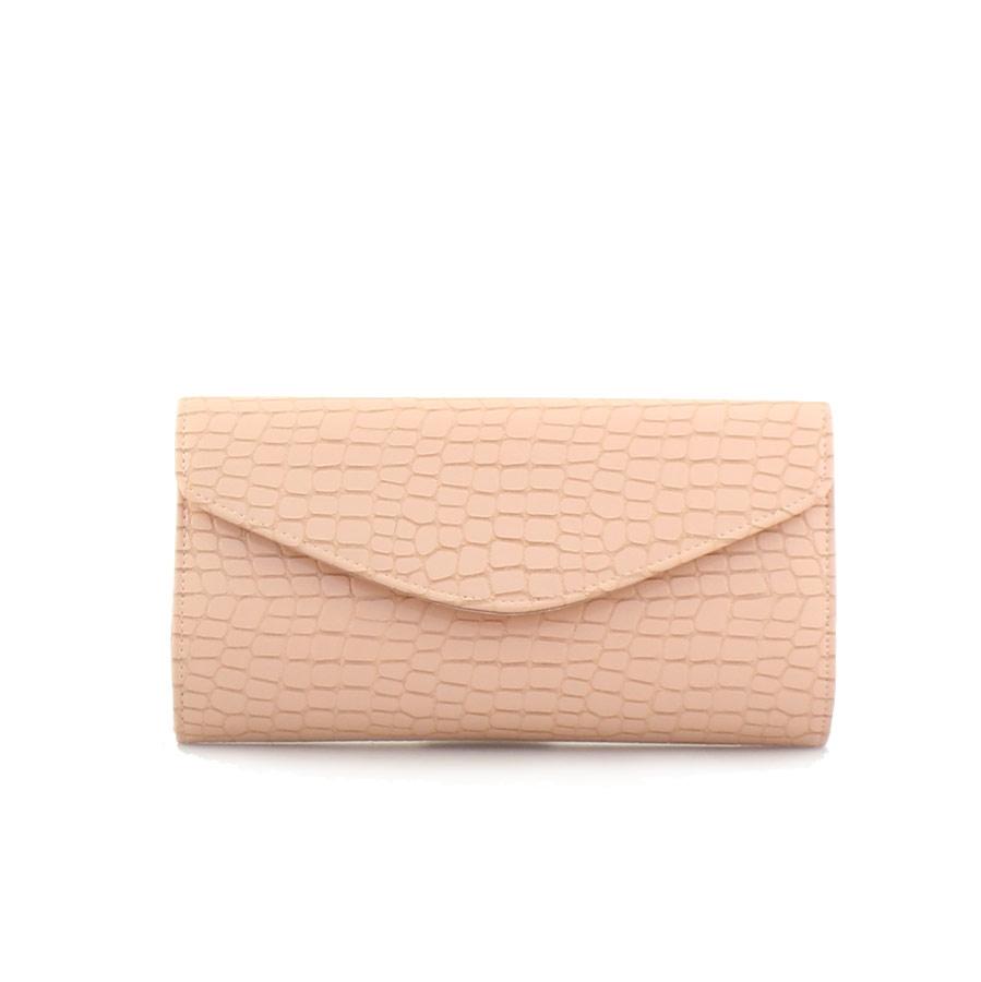 Γυναικείοι φάκελοι με ανάγλυφο μοτίβο Ροζ