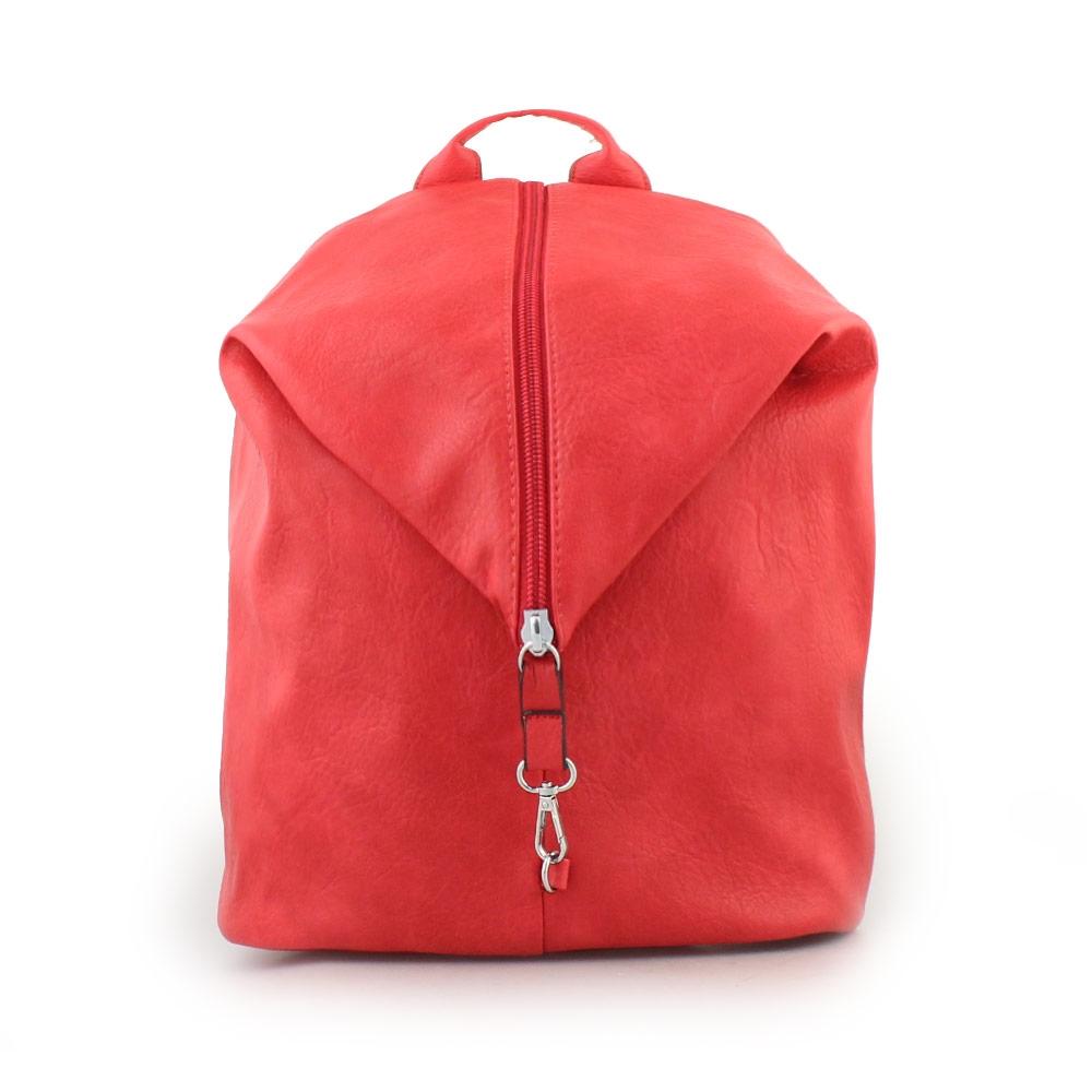 Γυναικεία σακίδια πλάτης με κάθετο δέσιμο Κόκκινο