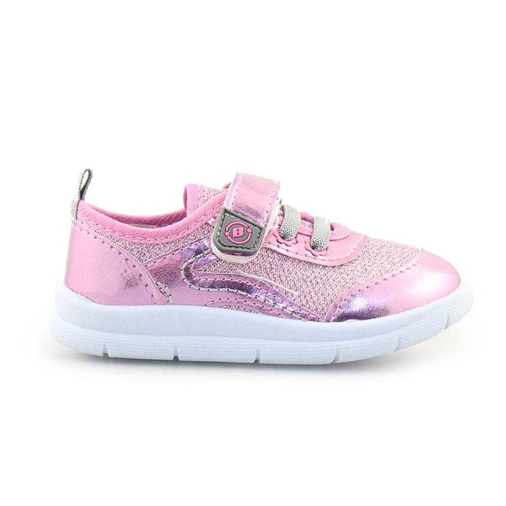 Παιδικά sneakers μεταλλιζέ Ροζ