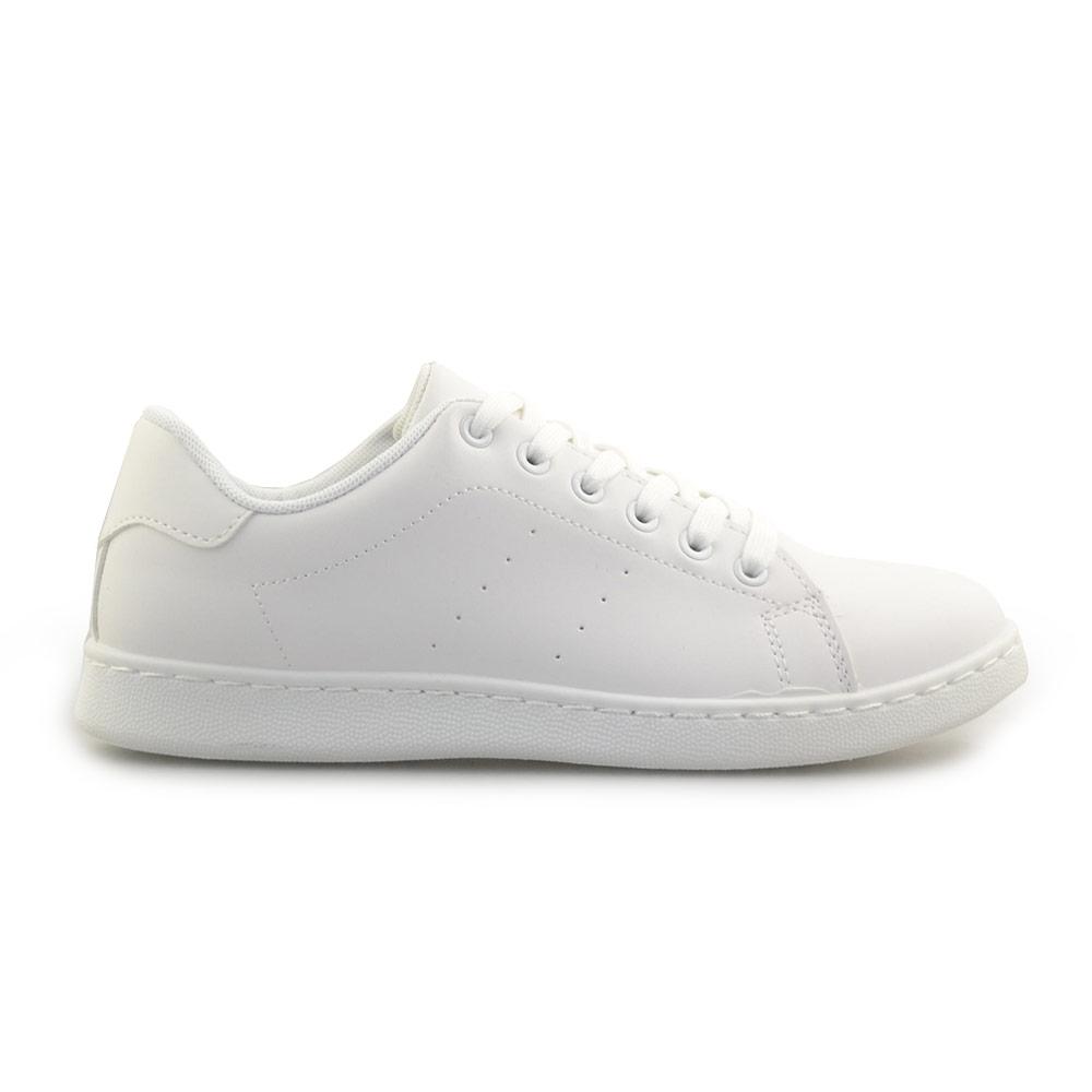 Ανδρικά sneakers μονόχρωμα Λευκό