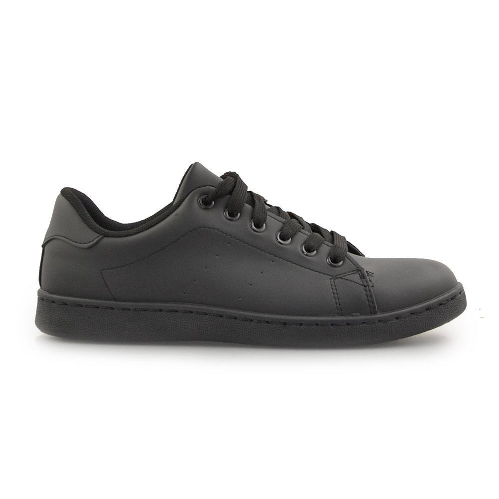 Ανδρικά sneakers μονόχρωμα Μαύρο