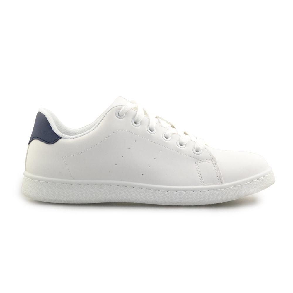 0e17e238d980 Inshoes Ανδρικά sneakers μονόχρωμα Λευκό Μπλε