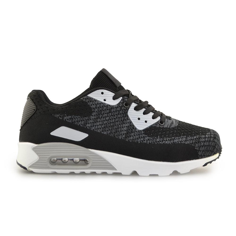 77be7b7385fe Inshoes Ανδρικά sneakers με αερόσολα Μαύρο