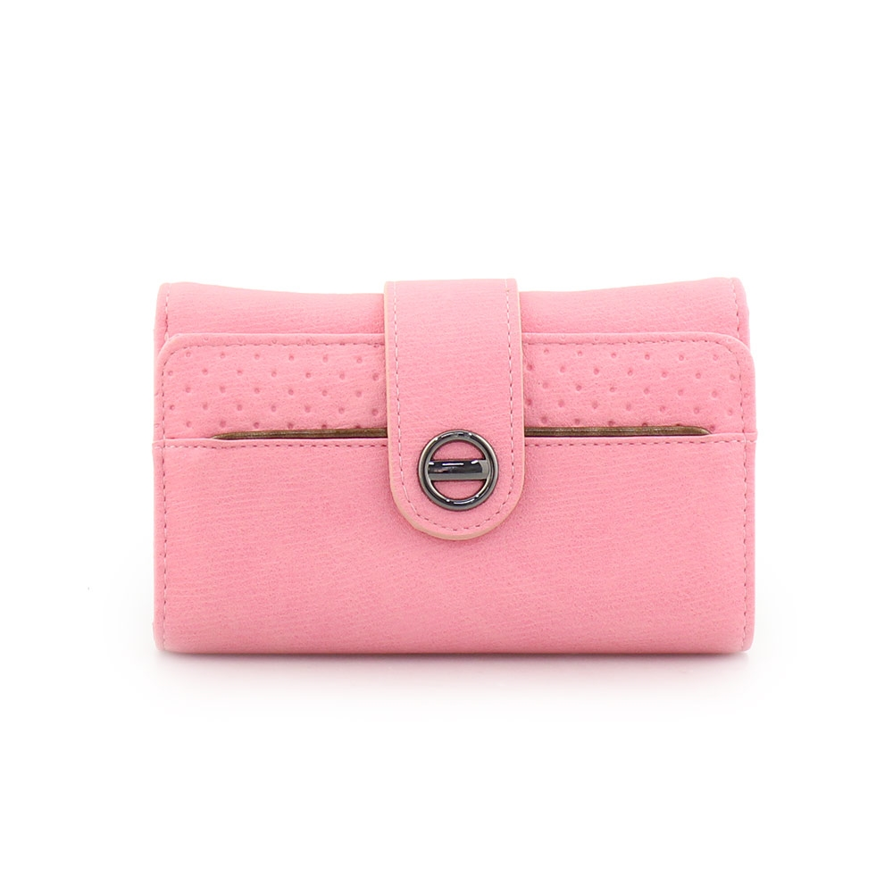 54f81e9d0e Γυναικεία πορτοφόλια με κλείσιμο με λουράκι Ροζ ⋆ EliteShoes.gr