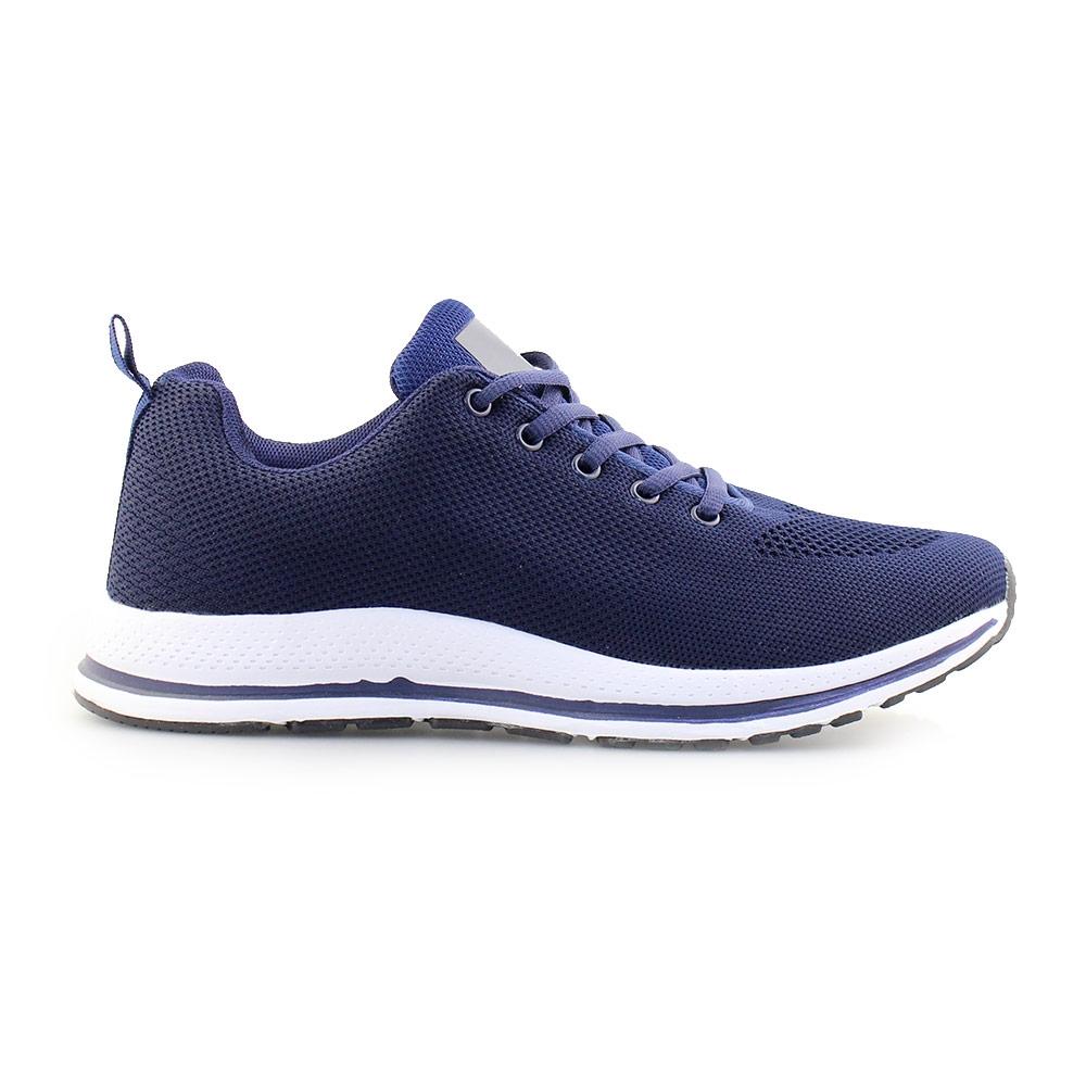 Ανδρικά sneakers με λεπτομέρεια στη σόλα Μπλε/Λευκό