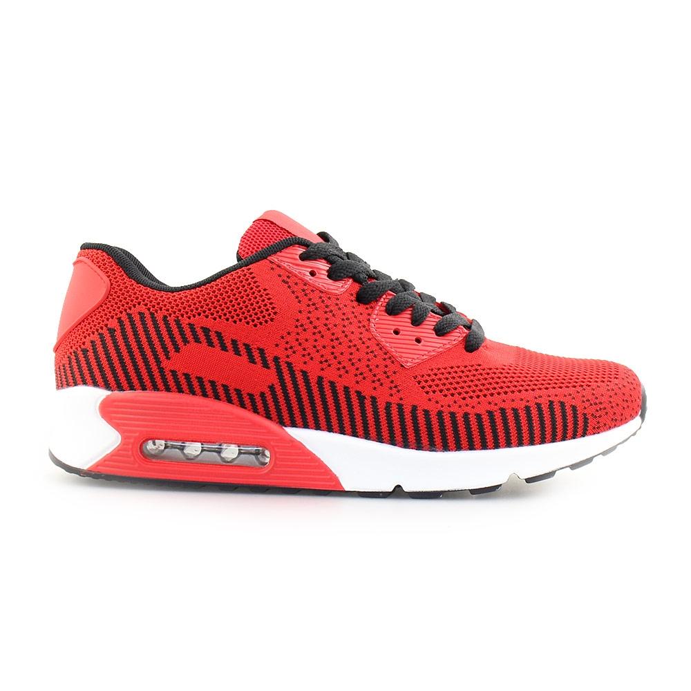 Ανδρικά sneakers με αερόσολα Κόκκινο/Λευκό